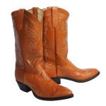 Ostrich Leg Boots on Sale Size 11D